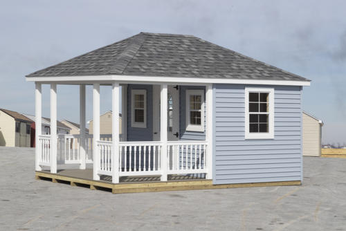 10x16 Signature Series Villa with a Porch