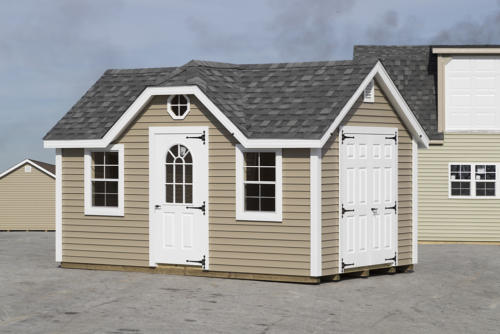New England Series Classic with Reverse Gable Dormer