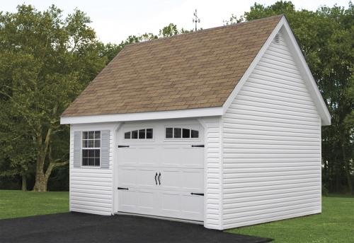 14x24 Classic with Heritage Garage Door